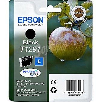 EPSON Stylus T1291 Cartucho de tinta color negro