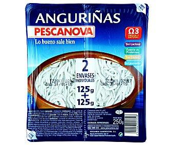 Pescanova Anguriñas 125 + 125 Gramos