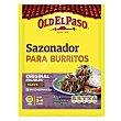Sazonador burrito Sobre 40 g Old El Paso