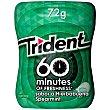 Chicle 60 minutos sabor hierbabuena Bote 80 gr Trident