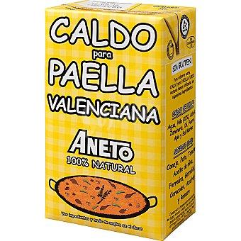 Aneto Caldo para paella valenciana Brik de 1L
