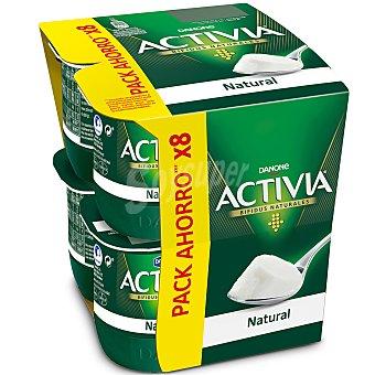 Activia Danone Yogur con bífidus naturales y sabor natural Pack 8 u x 125 g