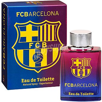 FC BARCELONA eau de toilette natural masculina Spray 100 ml