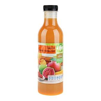 Carrefour Zumo guayaba,mango y goñi botella de 750ml 750 ml