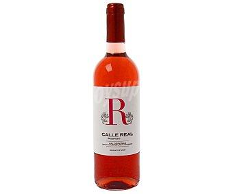 CALLE REAL Vino Rosado Joven Valdepeñas Botella 75 Centilitros 75cl