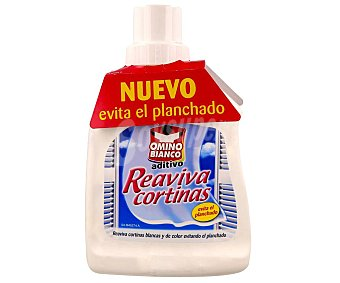 Omino Bianco Blancas de color Reaviva Cortinas Botella 500 ml