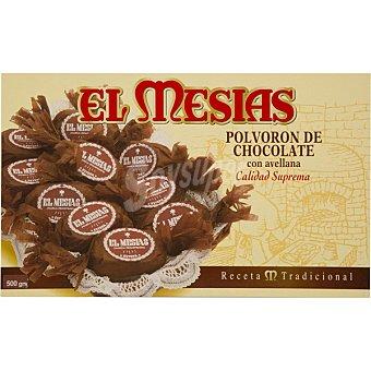 El mesias Polvorones de chocolate con avellana Estuche 500 g