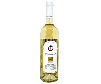 PRINCESA ICO Vino Blanco Semidulce con denominación de origen de Lanzarote Botella de 75 Centilitros
