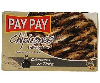 PAY PAY Chipirones enteros rellenos y en su tinta 75 g