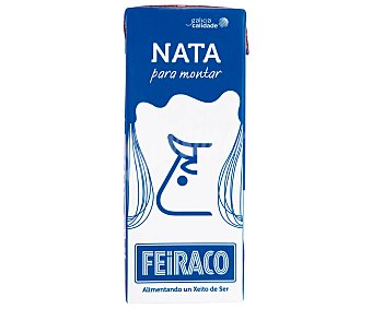 Feiraco Nata para montar Uht 35% Brik 200 ml