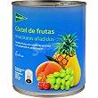 cóctel de frutas sin azúcar lata 480 g neto escurrido El Corte Inglés