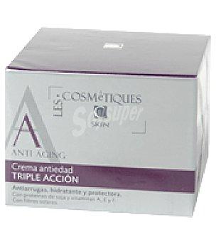 Les Cosmetiques Crema facial antiedad triple acción 50 ml