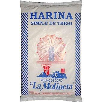 LA MOLINETA Harina simple de trigo Paquete 500 g