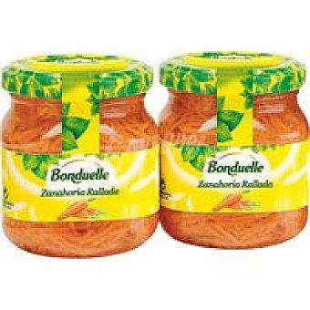 Bonduelle Zanahoría rallada Pack 2x110 g