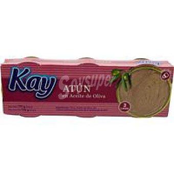 KAY Atún en aceite de oliva Pack 3x65 g