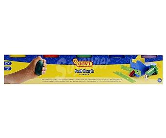 Jovi Lote de 5 botes de 125 centímetros cúbicos de pasta blanda de moldear (plastilina infantil) de diferentes colores 1 unidad