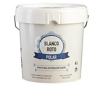 CPP Pintura acrílica de color blanco roto polar, CPP 4 litros