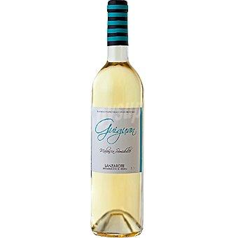 GUIGUAN Vino blanco malvasía semidulce D.O. Lanzarote botella 75 cl