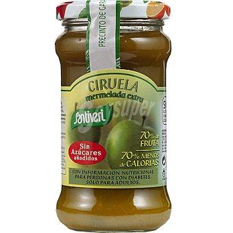 Santiveri Mermelada de ciruela extra 70% fruta sin azúcares añadidos Envase 295 g