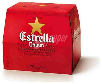 Estrella Damm Cerveza Pack 12x25 cl