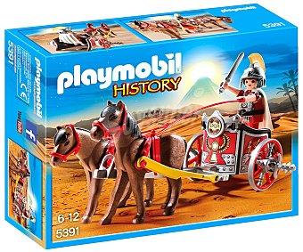 Playmobil Escenario de juego Cuádriga romana, incluye 1 figura, History 5391 playmobil