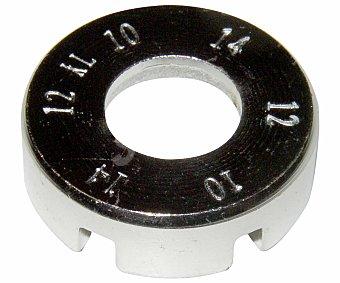 AUCHAN Llave de radios universal, compatible con radios de 12 a 19 mm. 1 Unidad