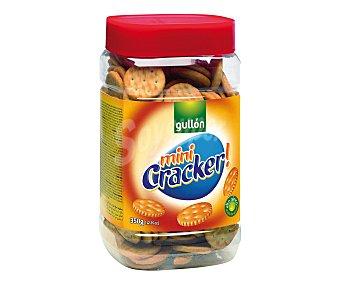 Gullón Galletas saladas mini cracker Bote 350 gr