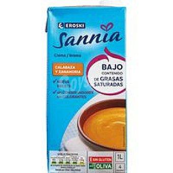 Eroski Sannia Crema de calabaza Brik 500 ml