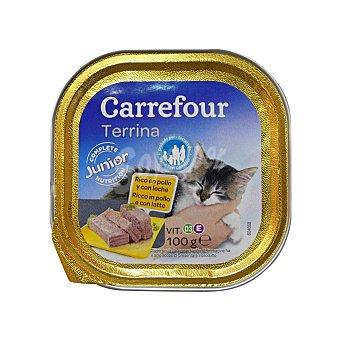Carrefour Alimento Húmedo para Gatos Pollo , Carrefour 100 gr