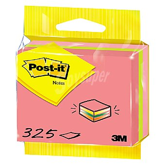 Post-It Cubo Caramelo 325 ud