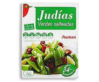 Auchan Judías Verdes Salteadas 250 Gramos
