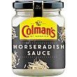 Horseradish salsa de rábano picante para carnes asadas Frasco 136 g Colmans