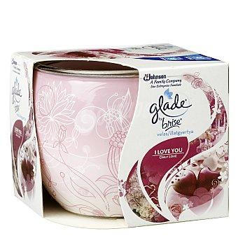 Glade Brise Cera Perfumada I Love You 1 ud
