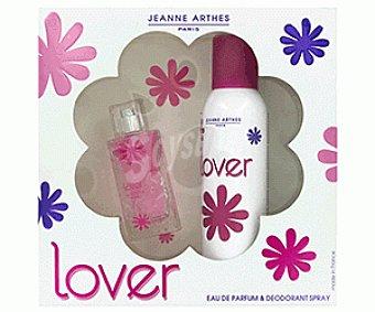 LOVER Estuche Colonia Mujer 50 Mililitros + Desodorante 200 Mililitros 1u