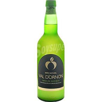 VAL D`ORNON Sidra natural D.O.P. Sidra de Asturias  botella de 70 cl