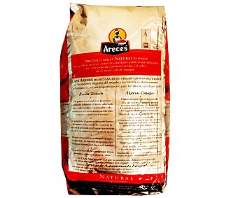 Areces Café en grano natural superior 1 Kilogramo