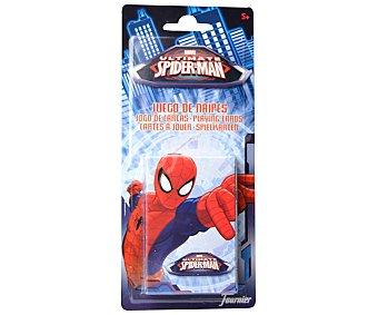 FOURNIER Baraja de Cartas Infantil Spiderman, de 2 a 6 Jugadores 1 Unidad