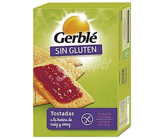 Gerblé Tostadas de Maíz y Arroz sin Gluten 250 gr