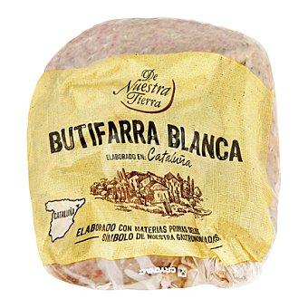 De nuestra tierra Butifarra blanca 250 g