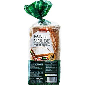 Aliada pan de molde blanco con corteza 16 rebanadas Bolsa 460 g