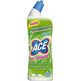Ace Desinfectante WC gel dessincrustante sin lejía botella 700 ml 700 ml