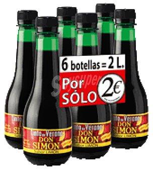 Don Simón Tinto de Verano limón Pack de 6x 33 cl
