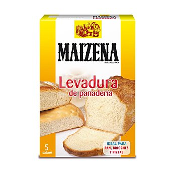 Maizena Levadura de Panadería 5 sobres de 5.5 g