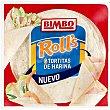 Tortitas de harina Roll's Paquete 6 u (240 g) Bimbo