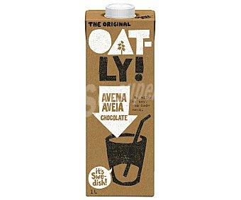 OATLY Bebida de avena sabor chocolate con calcio y vitaminas Envase 1 l