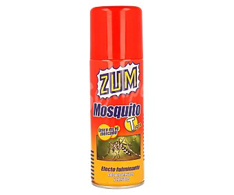Zum Spray para matar mosquitos tigre de efecto fulminante (apto para interiores y exteriores) 400 mililitros