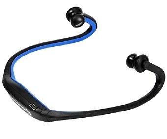 INNOVA Auriculares tipo Deportivo Bluetooth, Inalambrico, color azul y negro S9HD