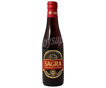 Sagra Cerveza roja artesanal de Toledo Botella de 33 centilitros