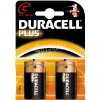 LR14 Plus DURACELL Pila alcalina Pack 2 unid