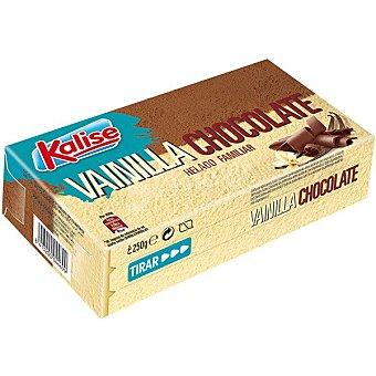 Kalise Helado familiar vainilla y chocolate Caja 250 g